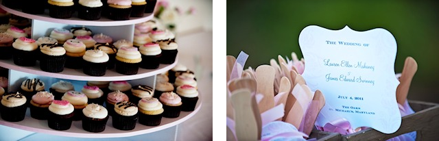 wedding cupcakes in St. Michaels