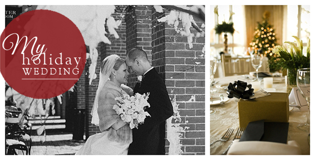 Winter holiday Eastern Shore Wedding