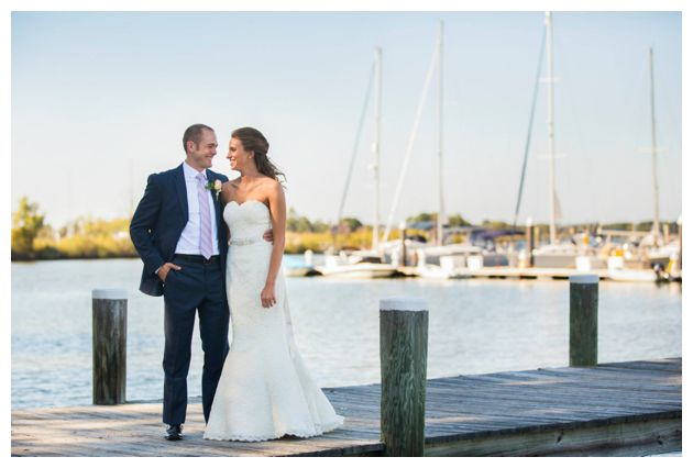 Eastern Shore Waterfront wedding