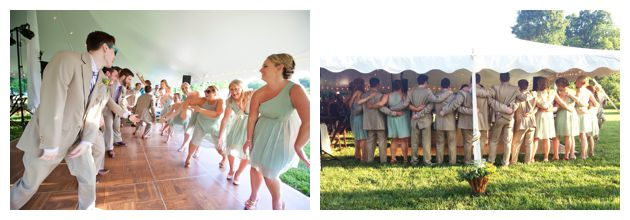 eastern shore wedding line dance