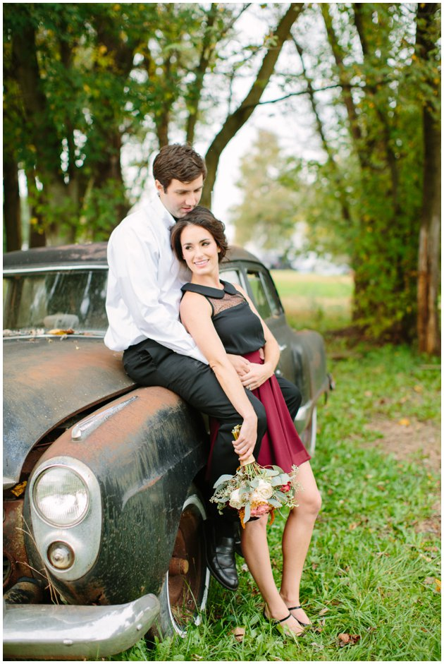 Floral-Inspired Engagement Session