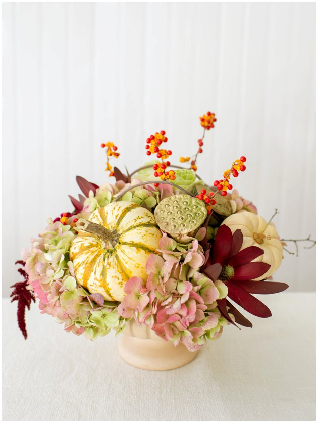 Fabulously Fall Thanksgiving Centerpiece
