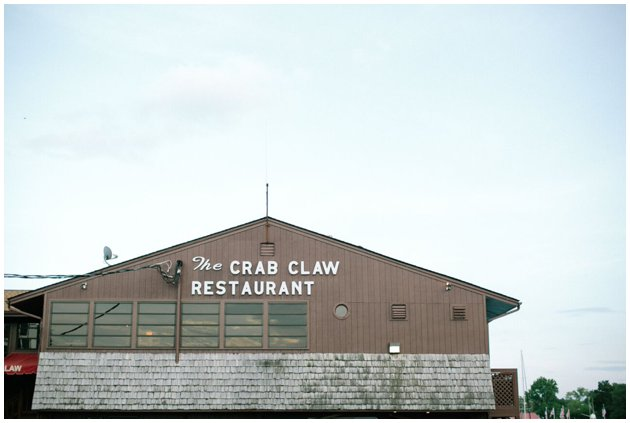 The Crab Claw in St. Michaels