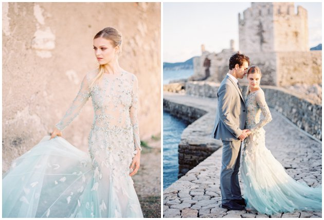 Feathered Wedding Gowns | 2016 Wedding Trends