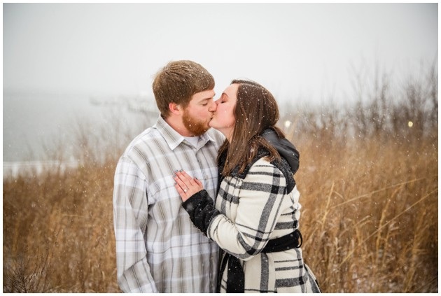 Surprise Winter Proposal in the snow