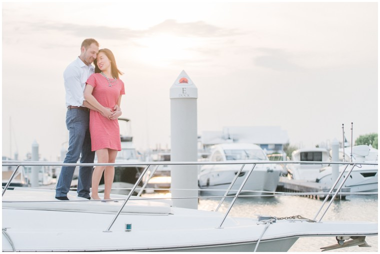 Nautical Engagement Session