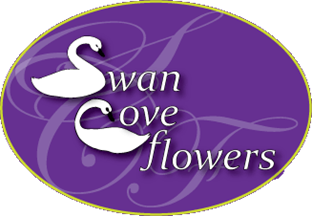 swan cove flowers logo