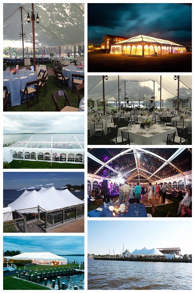 Atlantic Sailcloth Tent Company Clear-top and Sailcloth tents