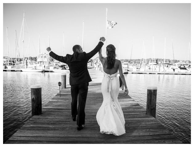 Just married at Osprey Point
