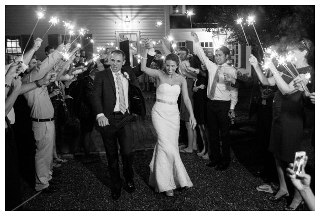 wedding sparklers!