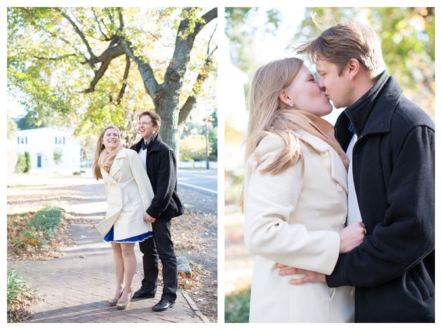 engagement session in Oxford, MD