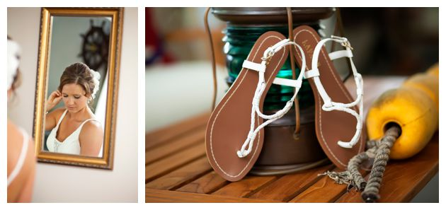 nautical eastern shore wedding
