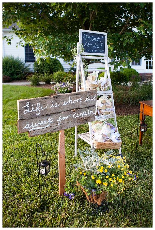 Rustic chic eastern shore wedding