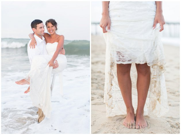 Ocean City Beach Wedding