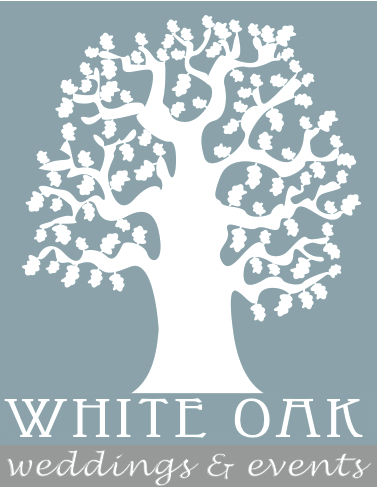 white oak weddings Logo