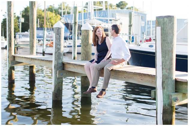 Nautical Oxford Engagement Session