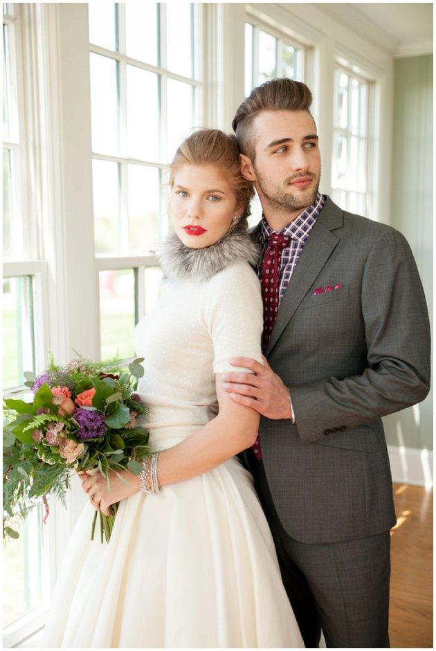 Winter Wedding | Bride & Groom Style