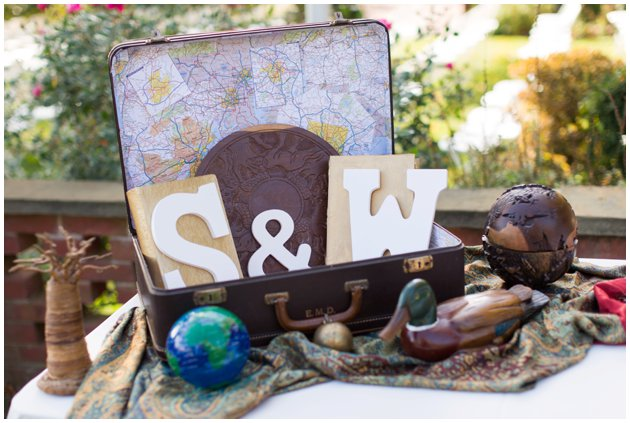 Travel-Themed Wedding Inspiration | 2016 Wedding Trends
