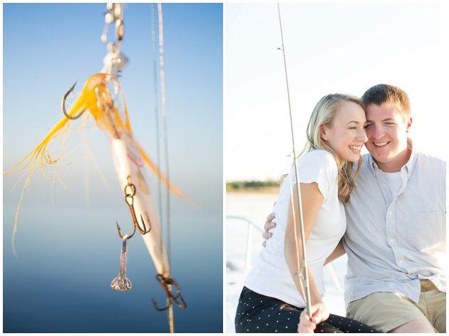 Fishing engagement session