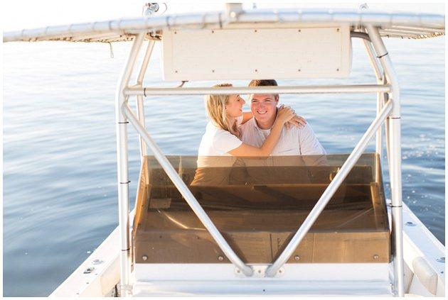 Boating engagement session
