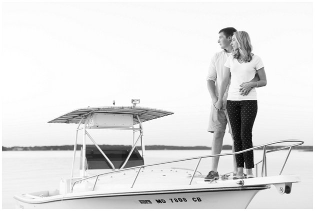 Boat engagement session