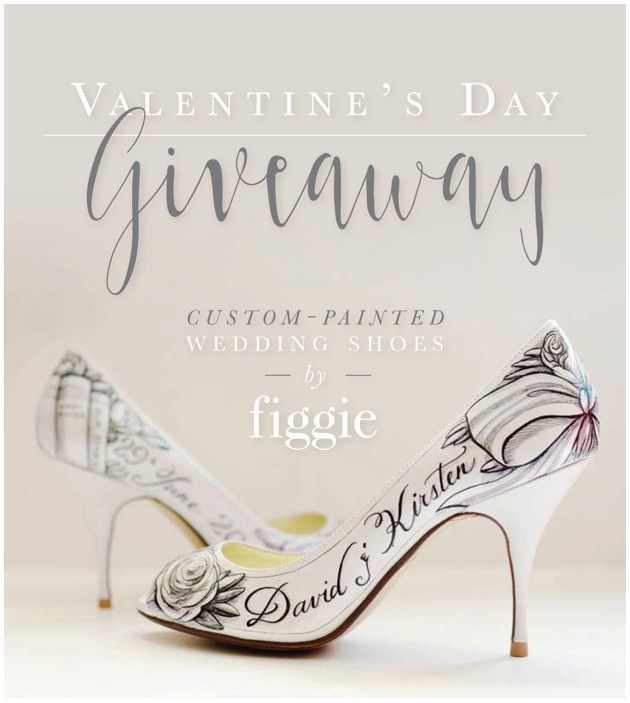 447b69160016d Custom-Painted Wedding Shoes + a GIVEAWAY!