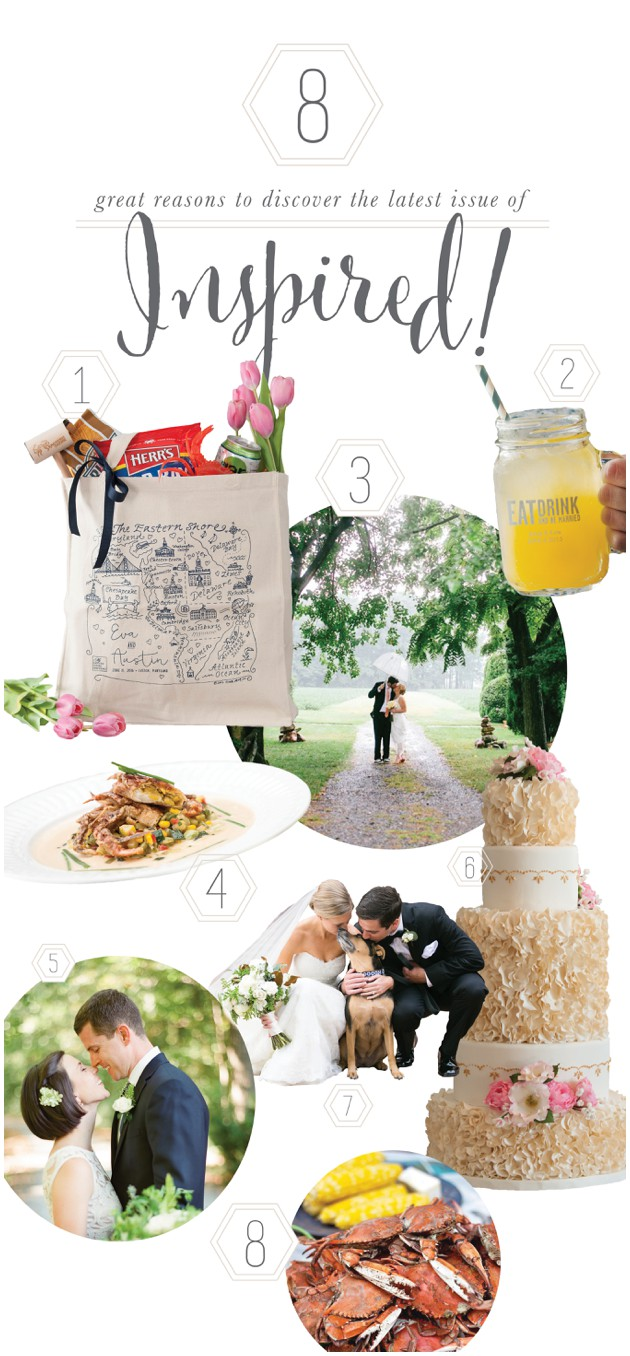 Eastern Shore Inspired! Wedding Magazine