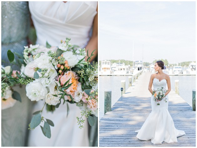 Romantic Waterfront Wedding