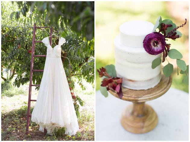 Peach Grove Wedding Inspiration