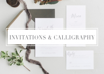 Invitations & Calligraphy