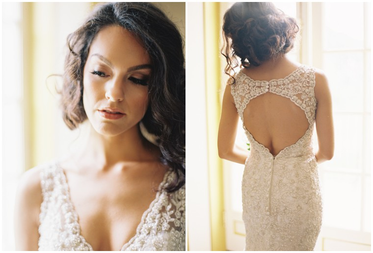 Classic Lace Wedding Gown