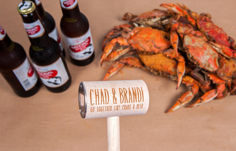 Bay Imprint Custom Crab Mallet