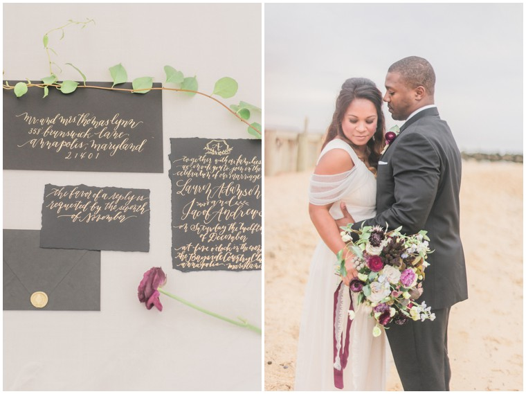 Plum and Grey Wedding