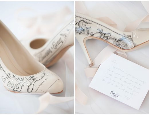 1a1e1aeb988af Custom Figgie Shoes for One Lucky MESW Bride!
