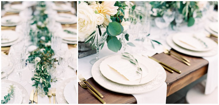 2017 Wedding Trend Neutral & Greenery