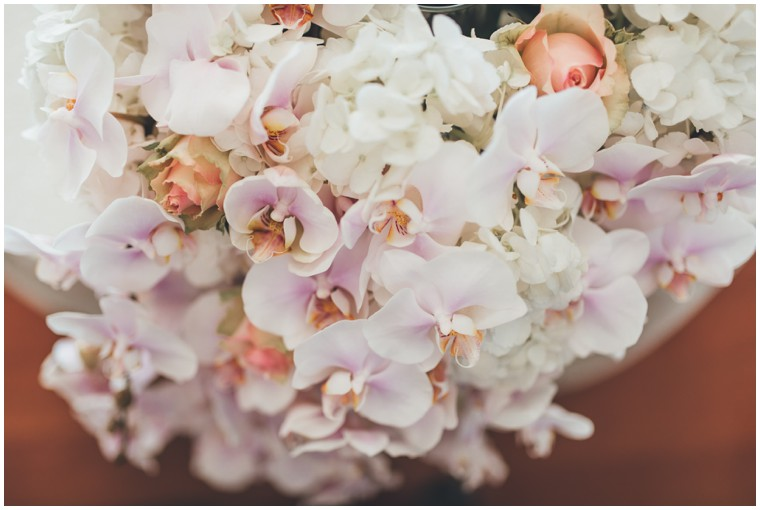 Lilac and Blush Flower Arrangement
