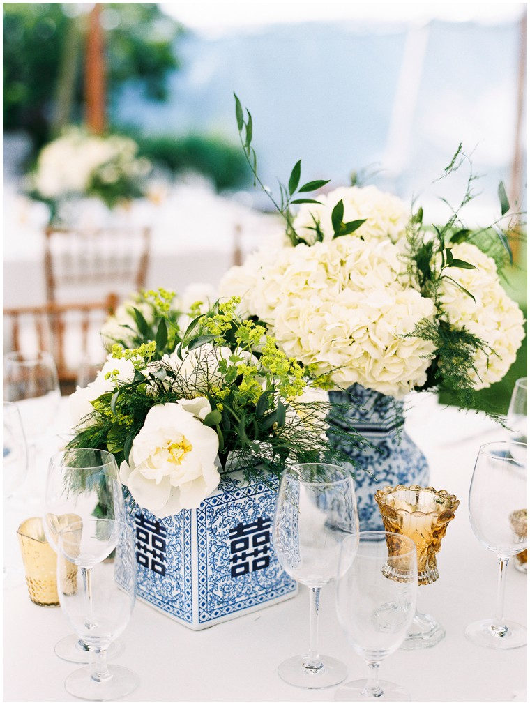 Ginger Jar Wedding Centerpieces