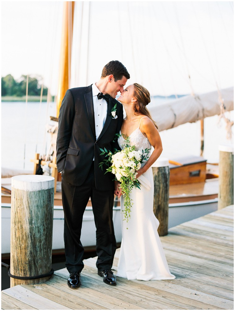 St. Michaels Wedding at the Chesapeake Bay Maritime Museum