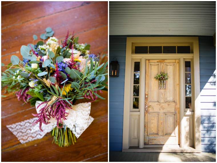 Rustic Wedding Bouquet Decor