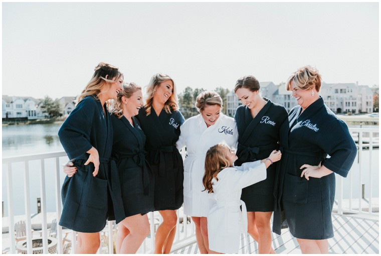 Cutest Custom Bridal Party Robes