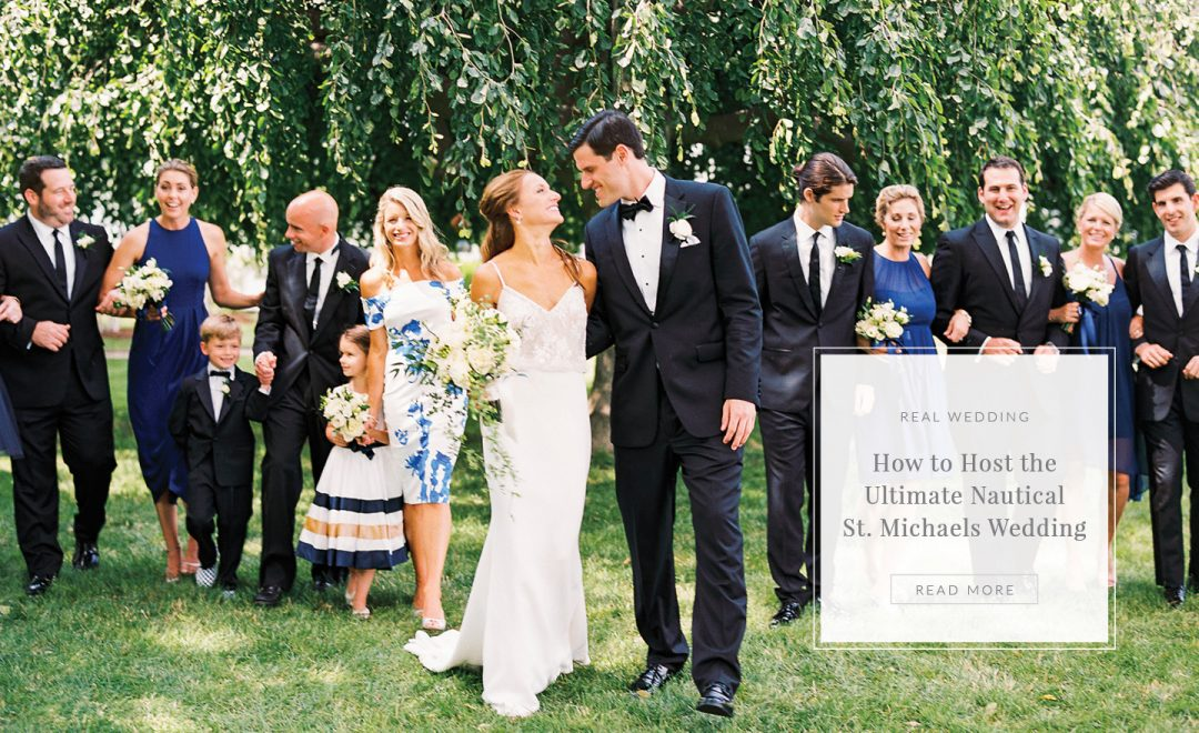 St. Michaels Waterfront Wedding at the Chesapeake Bay Maritime Museum