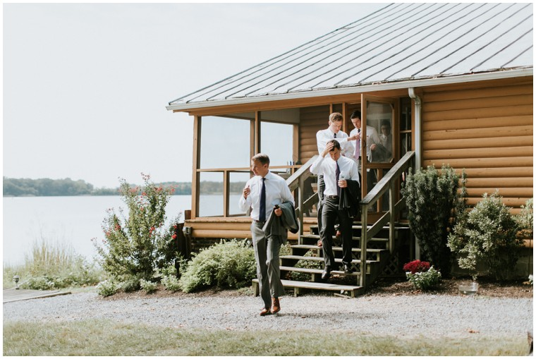 Shabby Chic Wedding on Maryland's Chester river