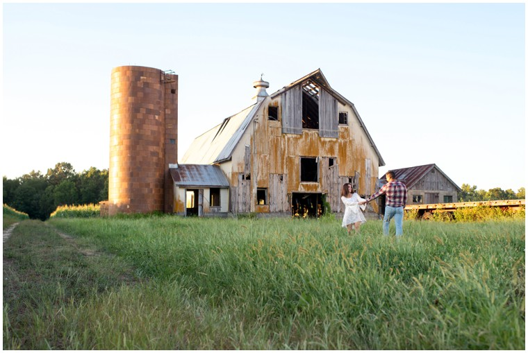 sunset barn shoot