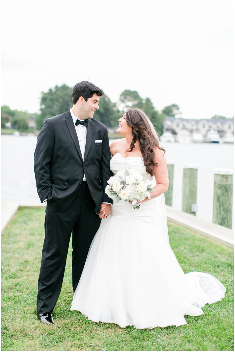 Chesapeake Bay Maritime Museum Wedding, wedding portraits