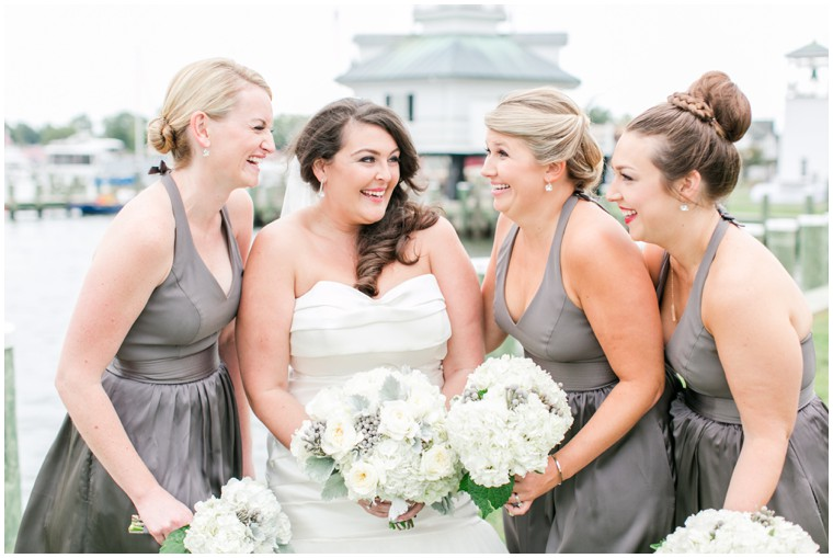 grey bridesmaid dresses, bridal party