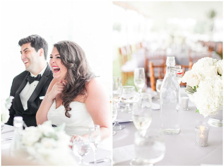 Chesapeake Bay Maritime Museum Wedding, wedding reception