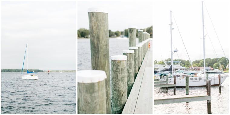 Chesapeake Bay Maritime Museum, waterfront wedding