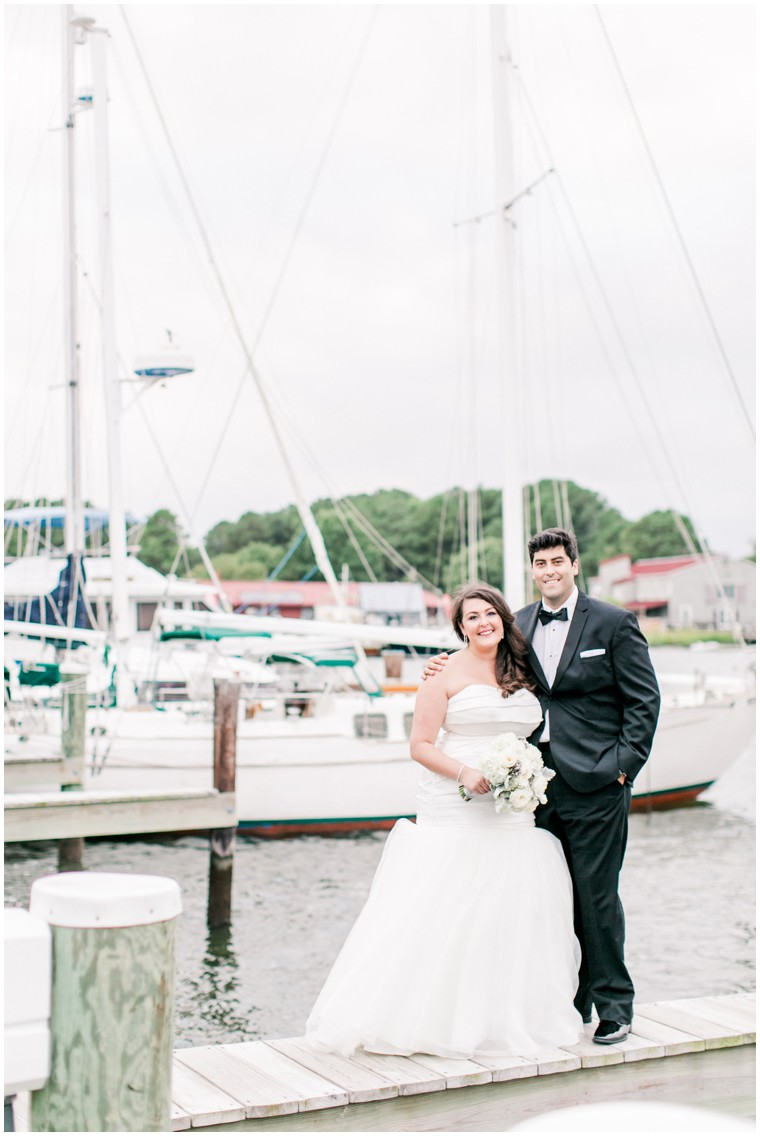 Chesapeake Bay Maritime Museum Wedding, waterfront wedding