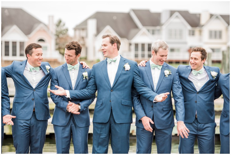 groomsmen, blue wedding