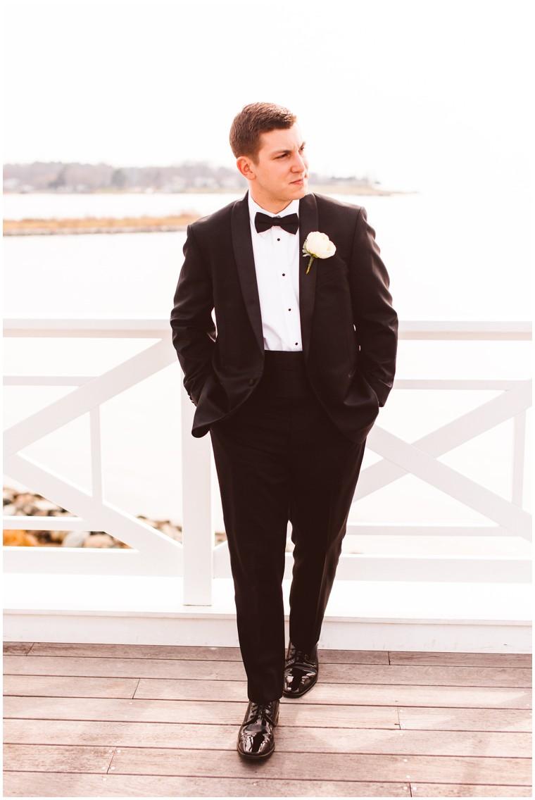 Classic Meets Nautical at this Romantic Beach Club Wedding | My ...